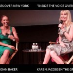 "Clip 4 – SAG Foundation Event – Voices Over New York – Host: Joan Baker asks ""How did you develop your VO style?"""