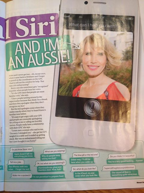 Woman's Day Magazine Australia – October, 2013