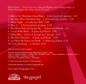 Destination Christmas back cover