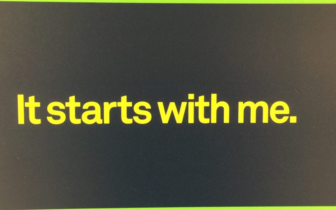 IT STARTS WITH ME: